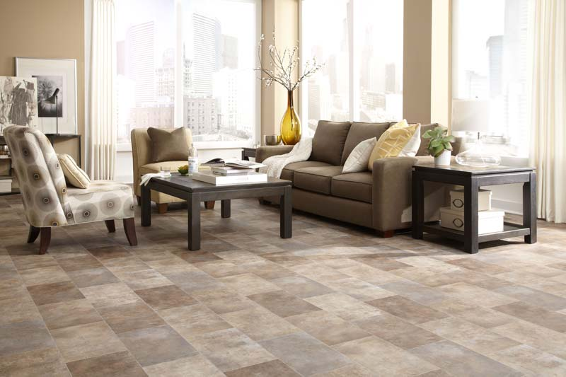 Linoleum City vinyl flooring