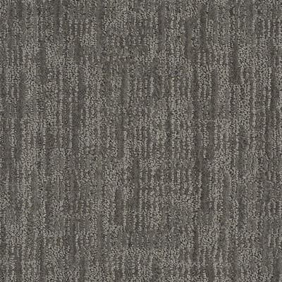 Linoleum City - cut and loop carpet swatch